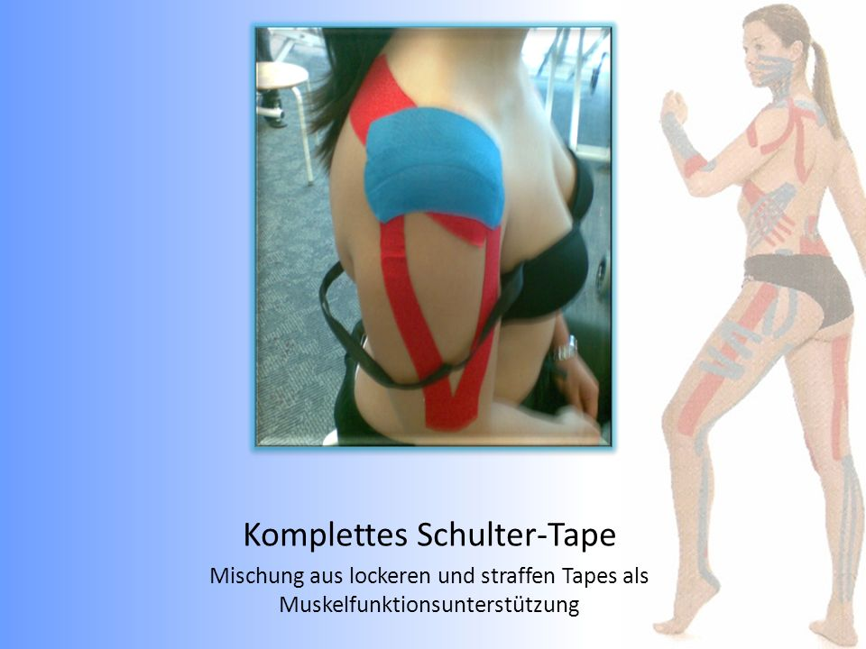 Komplettes Schulter-Tape