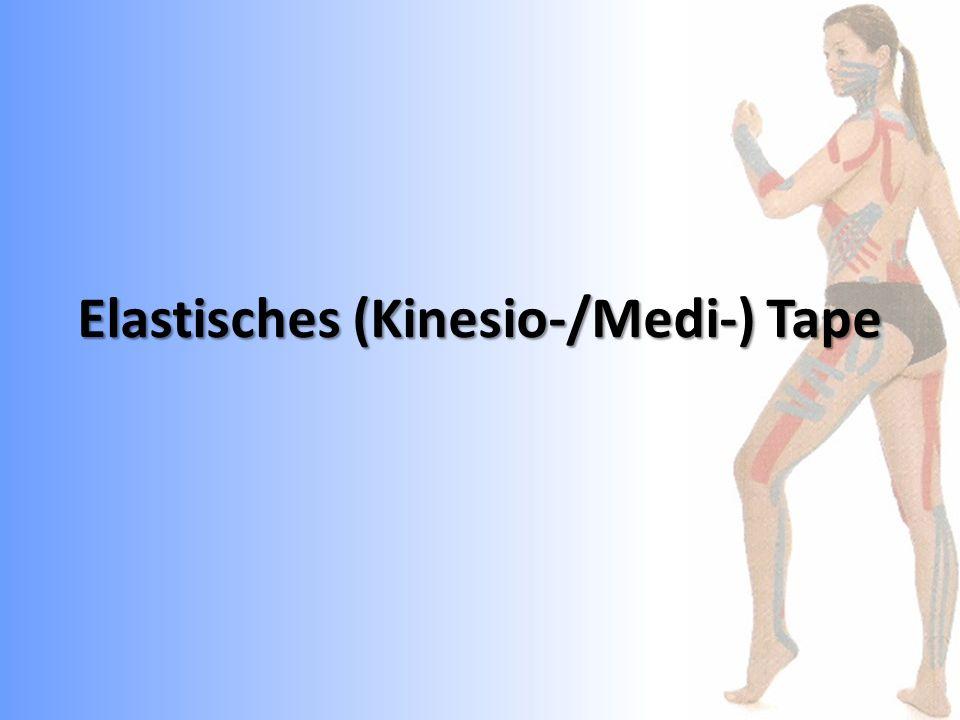 Elastisches (Kinesio-/Medi-) Tape