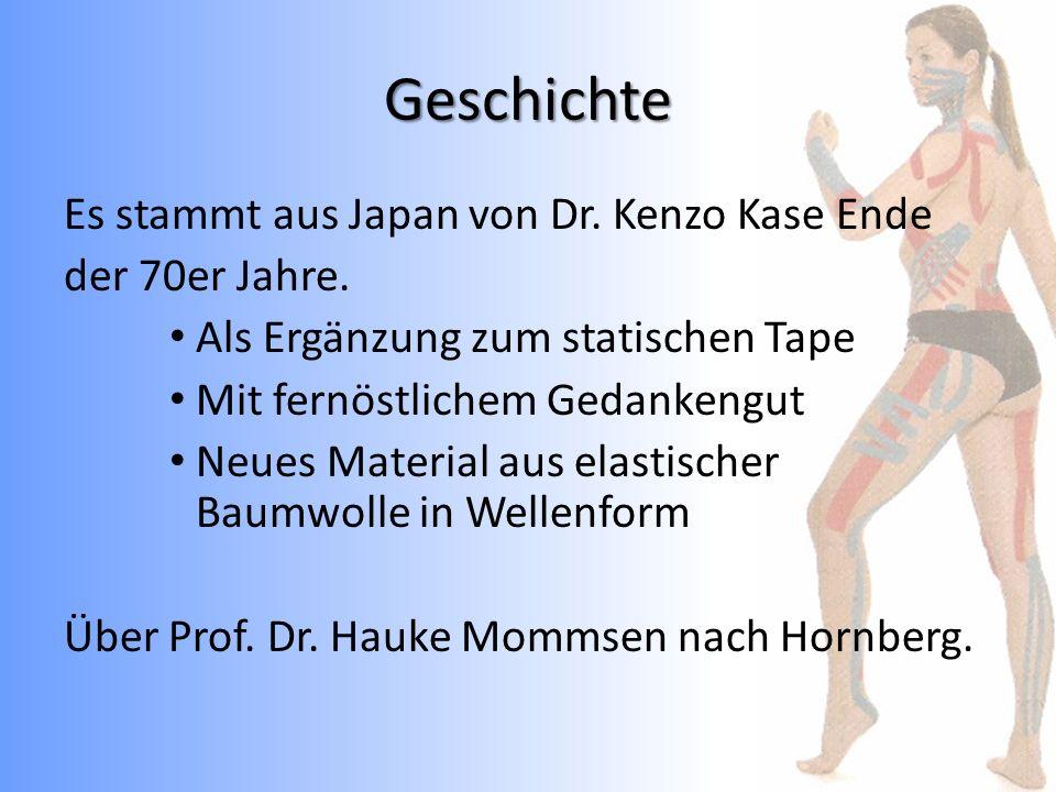 Geschichte Es stammt aus Japan von Dr. Kenzo Kase Ende der 70er Jahre.