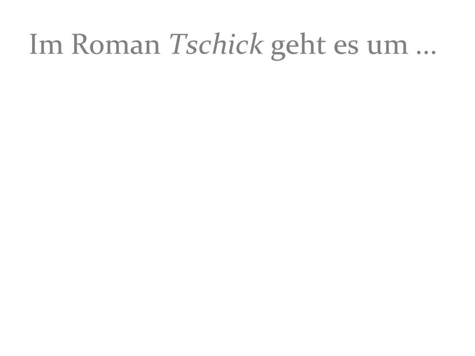 Im Roman Tschick geht es um ...