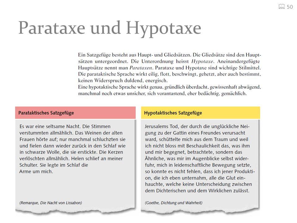  50 Parataxe und Hypotaxe