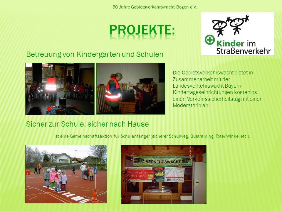 projekte: Betreuung von Kindergärten und Schulen