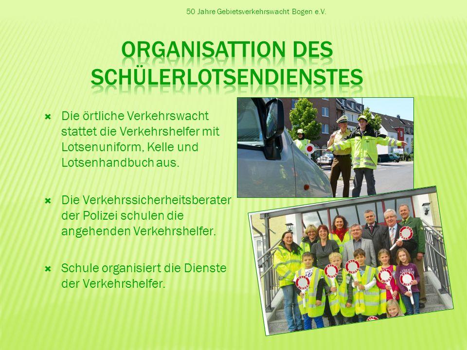 Organisattion des Schülerlotsendienstes