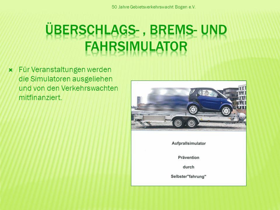 Überschlags- , Brems- und Fahrsimulator