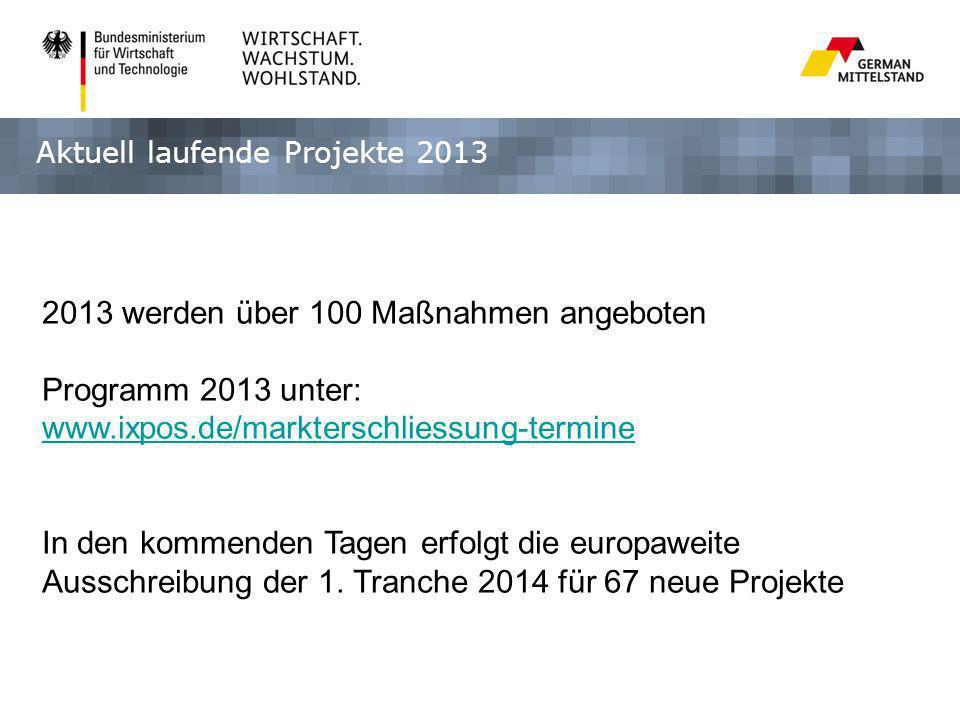 2013 werden über 100 Maßnahmen angeboten Programm 2013 unter: