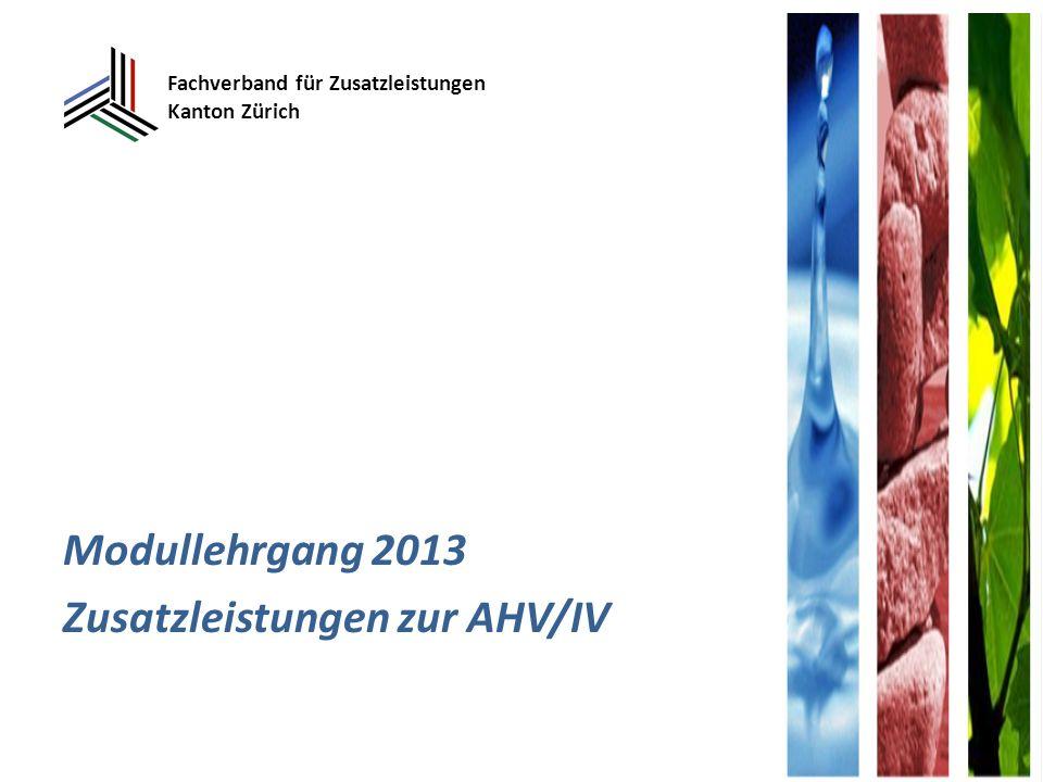 Fachverband für Zusatzleistungen Kanton Zürich