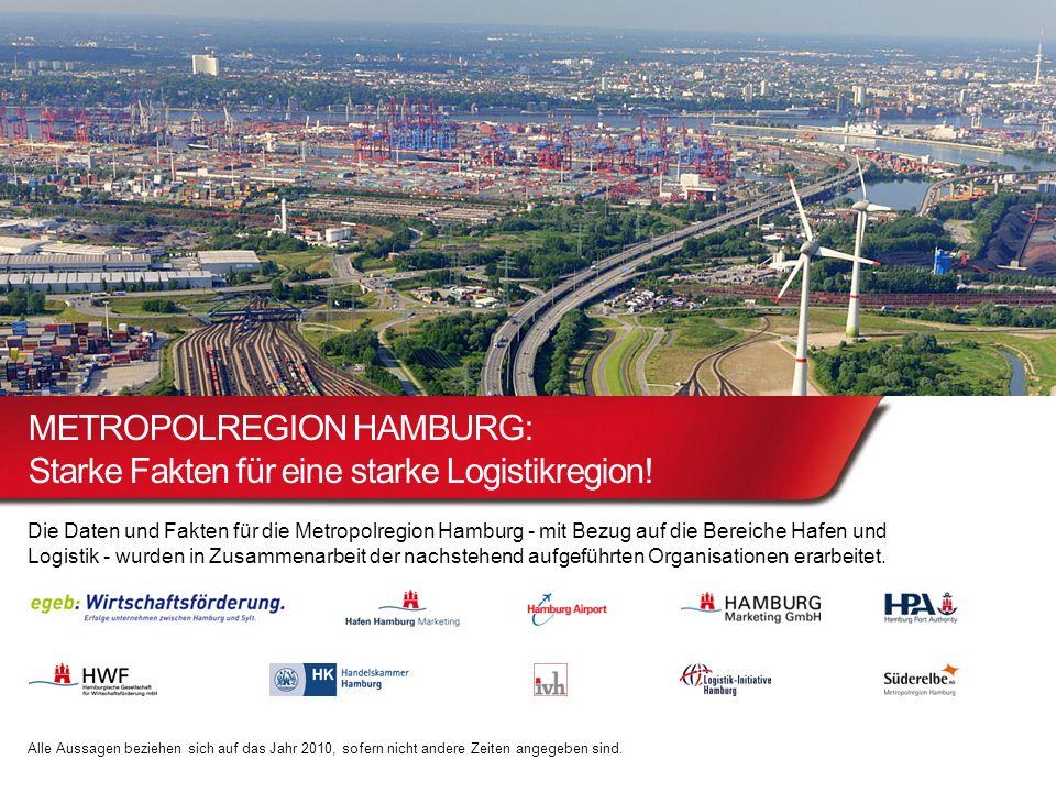 METROPOLREGION HAMBURG: Starke Fakten für eine starke Logistikregion!