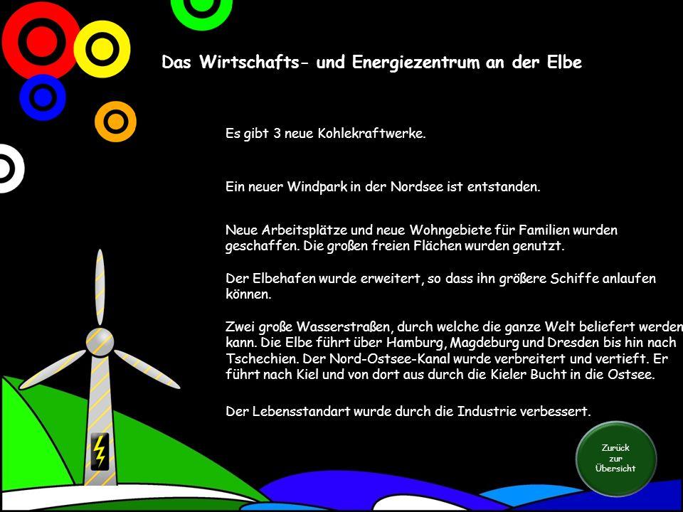 Das Wirtschafts- und Energiezentrum an der Elbe