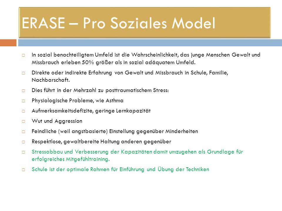 ERASE – Pro Soziales Model