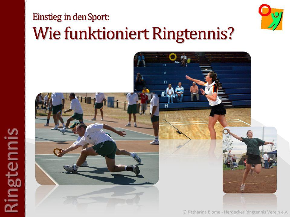 Einstieg in den Sport: Wie funktioniert Ringtennis