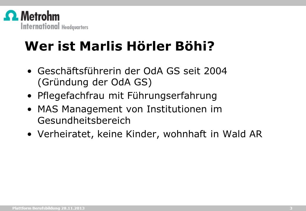 Wer ist Marlis Hörler Böhi