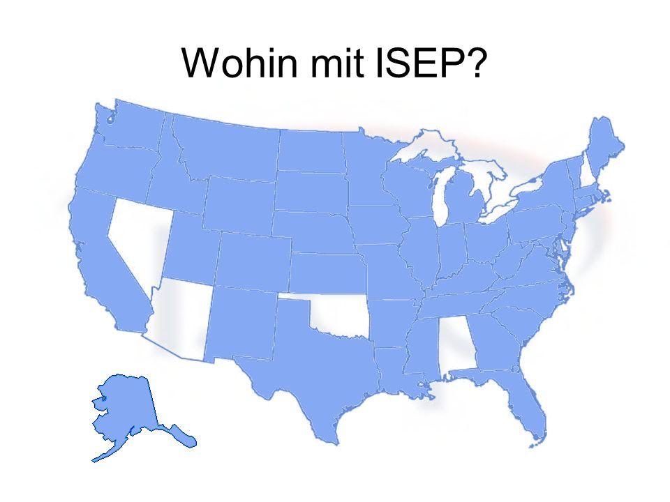 Wohin mit ISEP