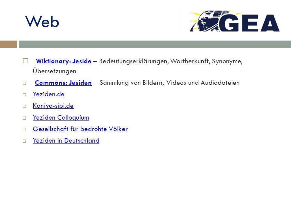 Web Wiktionary: Jeside – Bedeutungserklärungen, Wortherkunft, Synonyme, Übersetzungen.