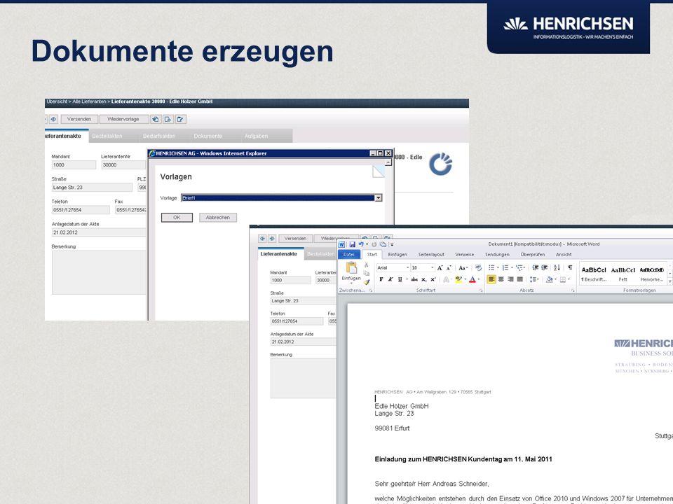Transparenz Über die Monitorfunktion kann die Bearbeitungshistorie von Akten und Dokumenten eingesehen werden.