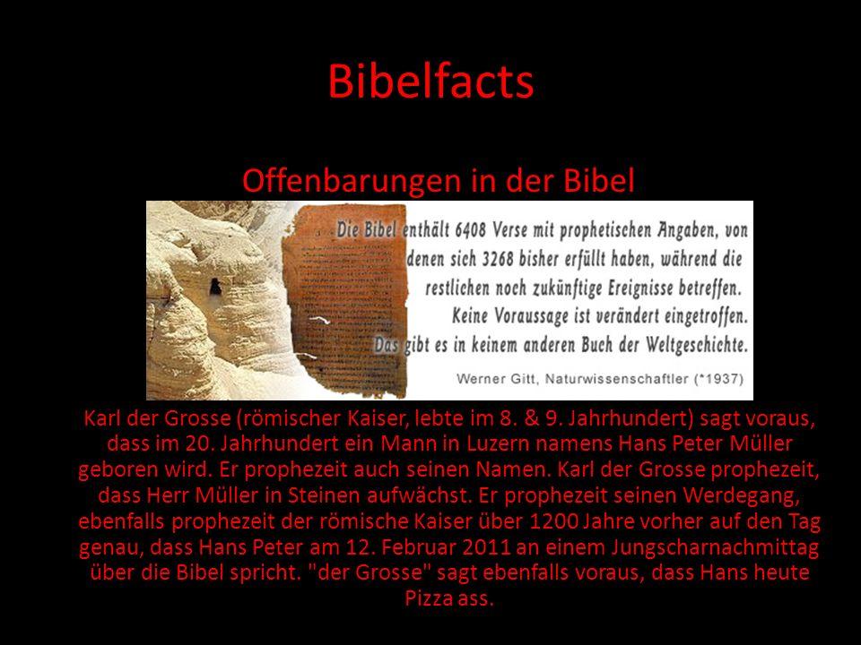Offenbarungen in der Bibel