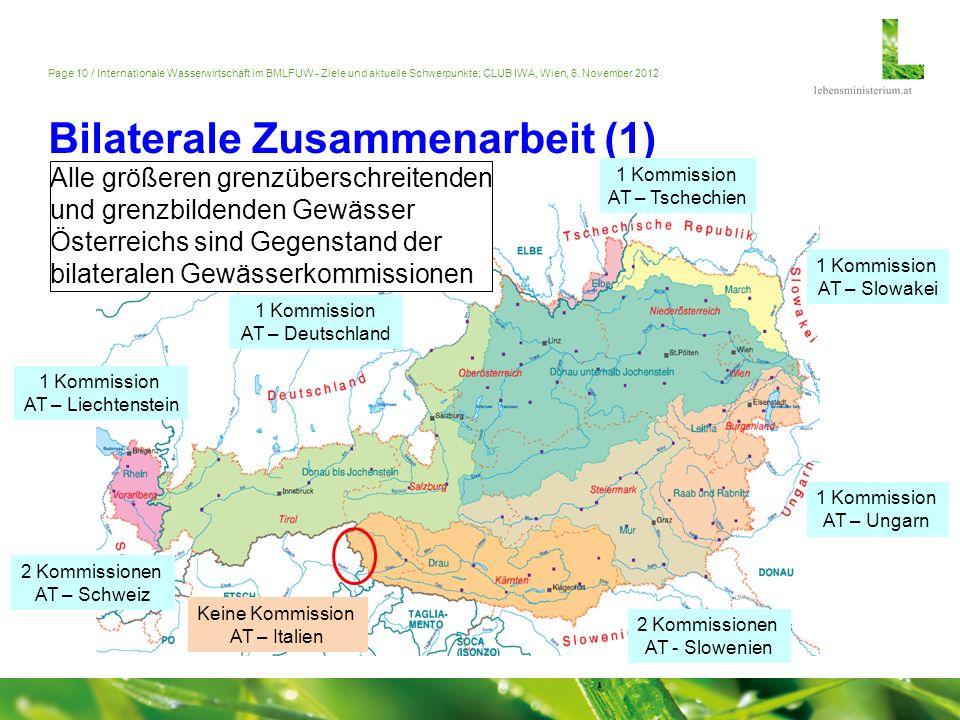 Bilaterale Zusammenarbeit (1)