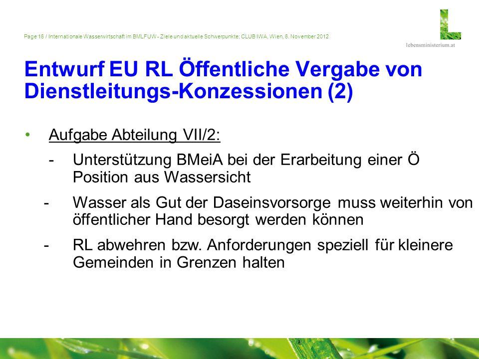 Entwurf EU RL Öffentliche Vergabe von Dienstleitungs-Konzessionen (2)
