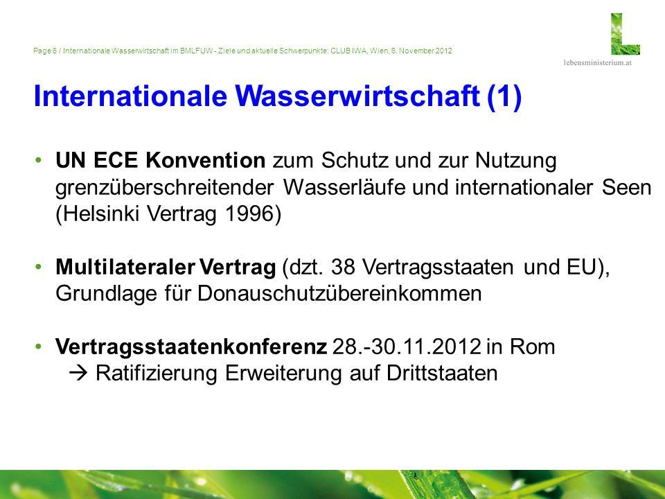 Internationale Wasserwirtschaft (1)