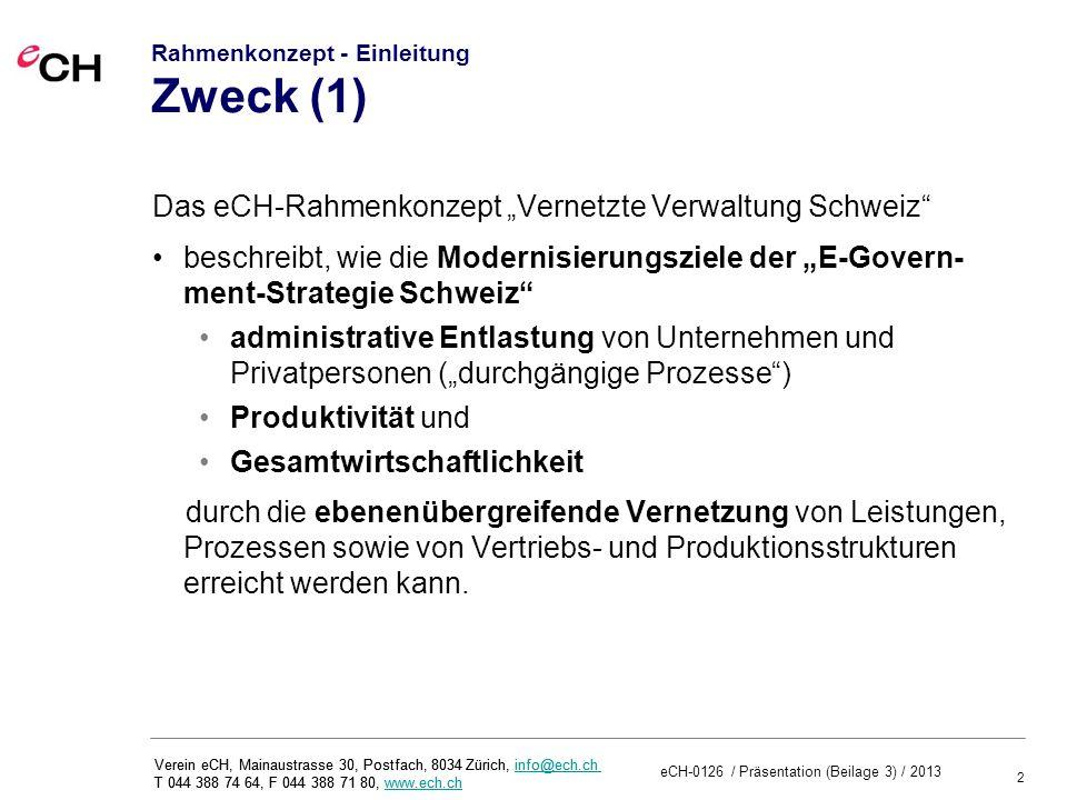 Rahmenkonzept - Einleitung Zweck (1)