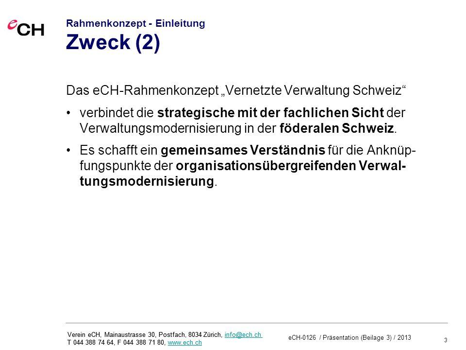 Rahmenkonzept - Einleitung Zweck (2)