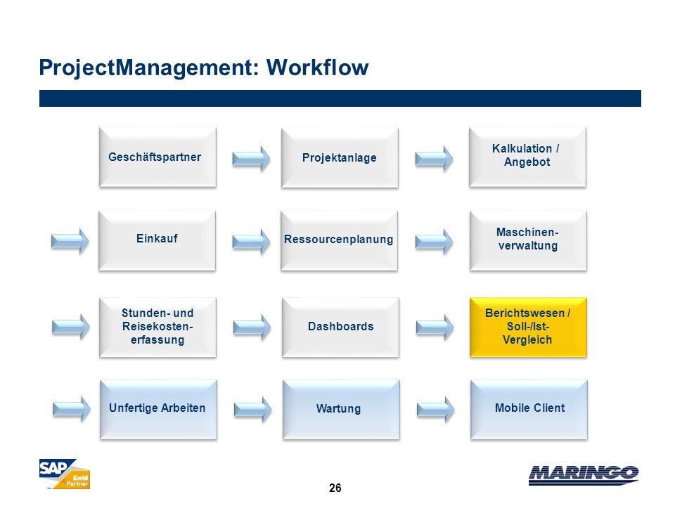 ProjectManagement: Workflow