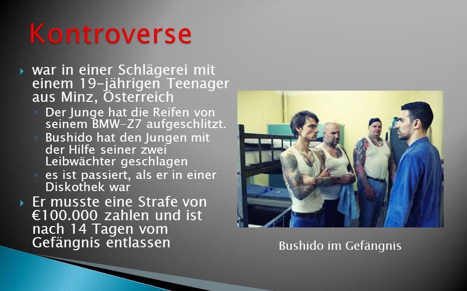Kontroverse war in einer Schlägerei mit einem 19-jährigen Teenager aus Minz, Österreich.