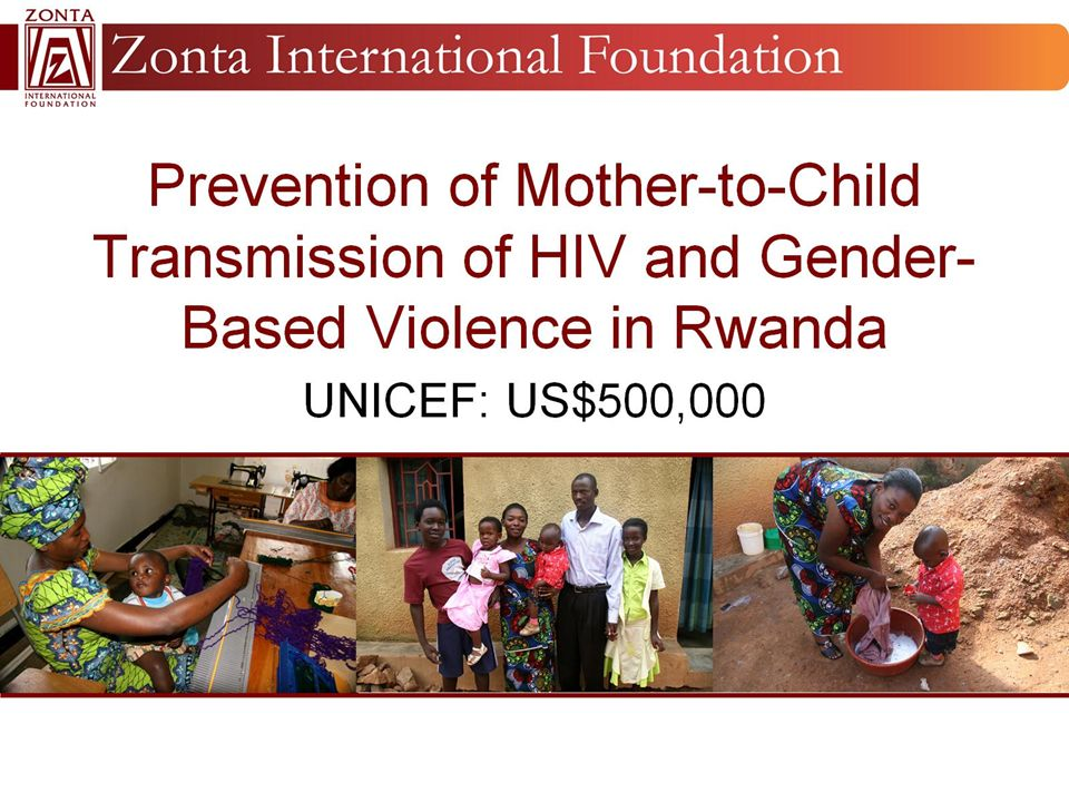 Prevention of Mother-to-Child Transmission of HIV and Gender-Based Violence in Rwanda