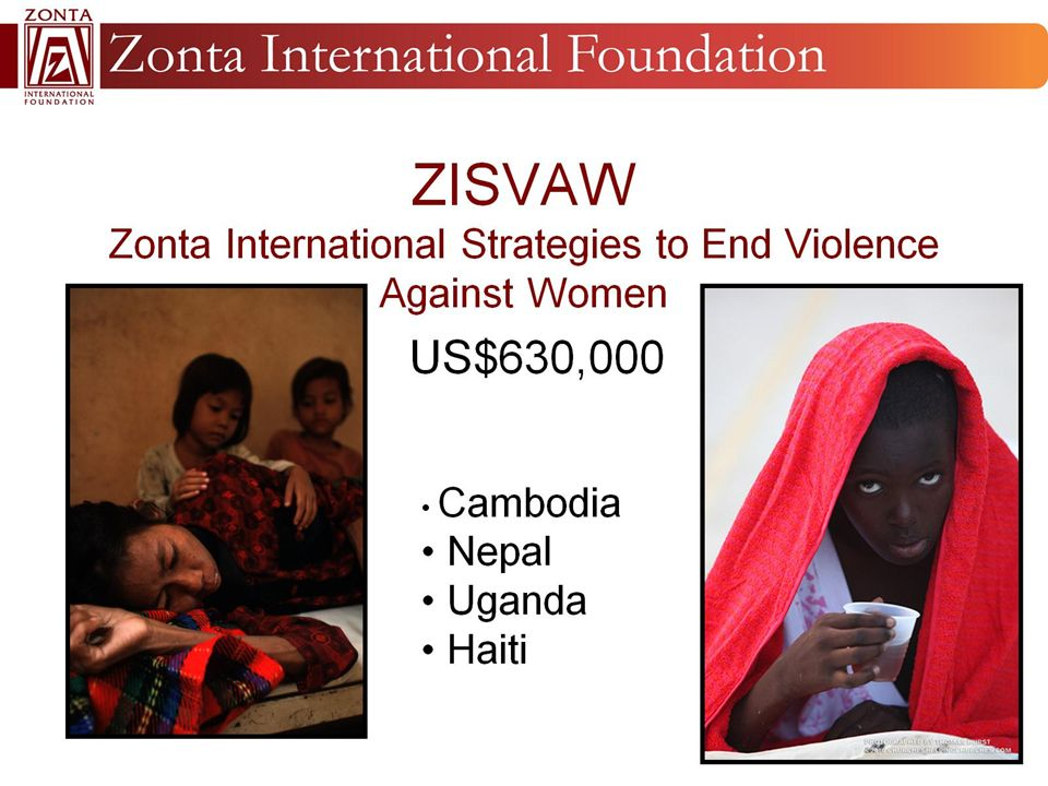 ZISVAW Zonta International Strategies to End Violence Against Women