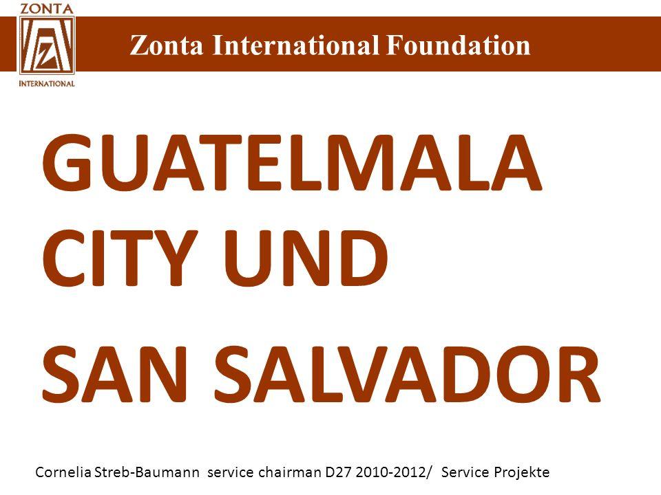 GUATELMALA CITY UND SAN SALVADOR