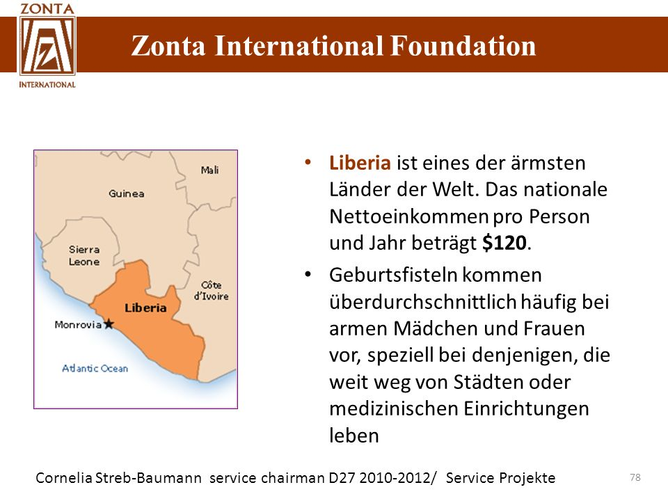 Liberia ist eines der ärmsten Länder der Welt