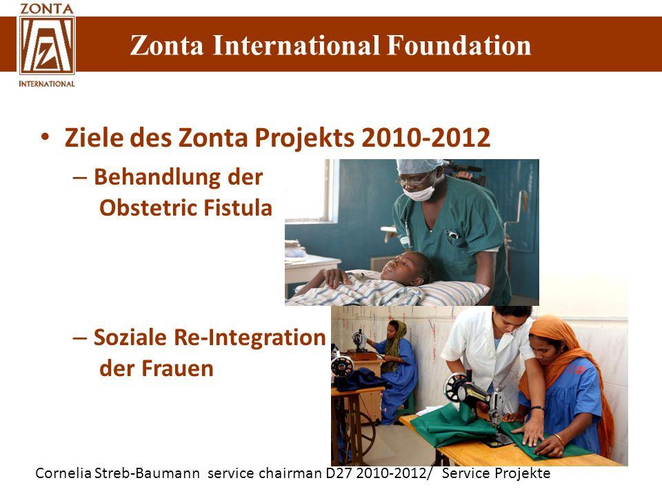 Ziele des Zonta Projekts 2010-2012