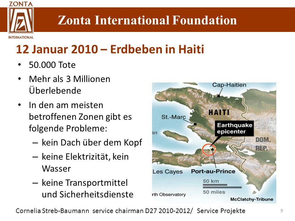12 Januar 2010 – Erdbeben in Haiti