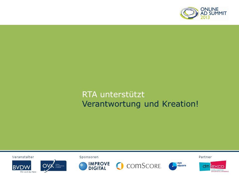 RTA unterstützt Verantwortung und Kreation!