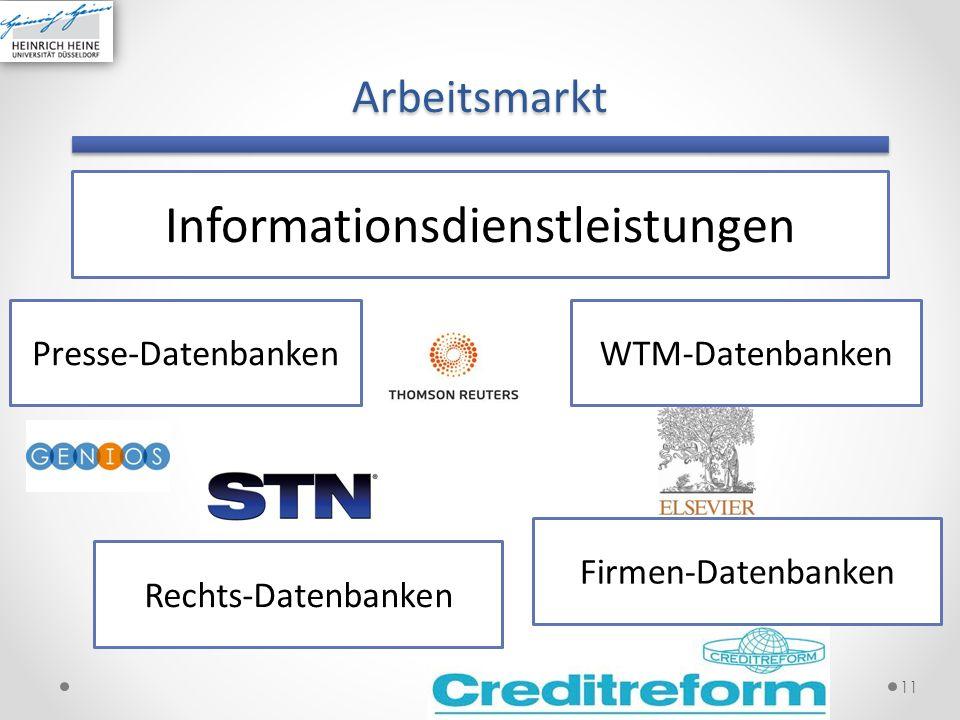 Informationsdienstleistungen