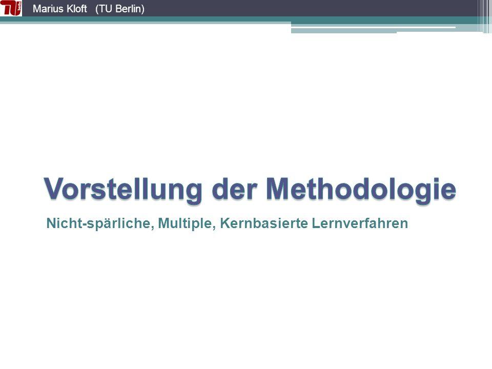 Vorstellung der Methodologie