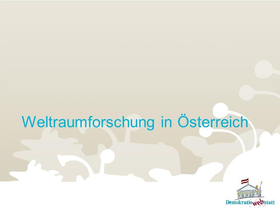 Weltraumforschung in Österreich