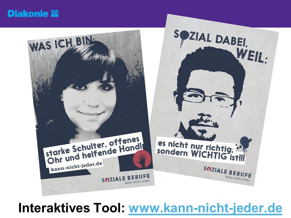 Interaktives Tool: www.kann-nicht-jeder.de