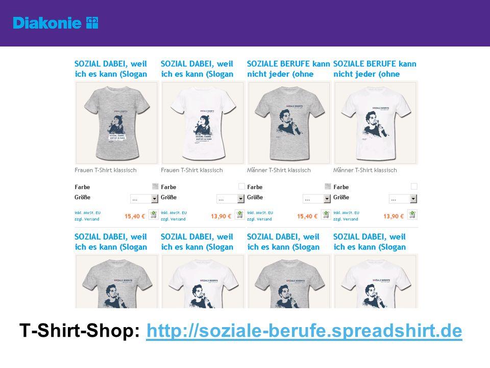 T-Shirt-Shop: http://soziale-berufe.spreadshirt.de