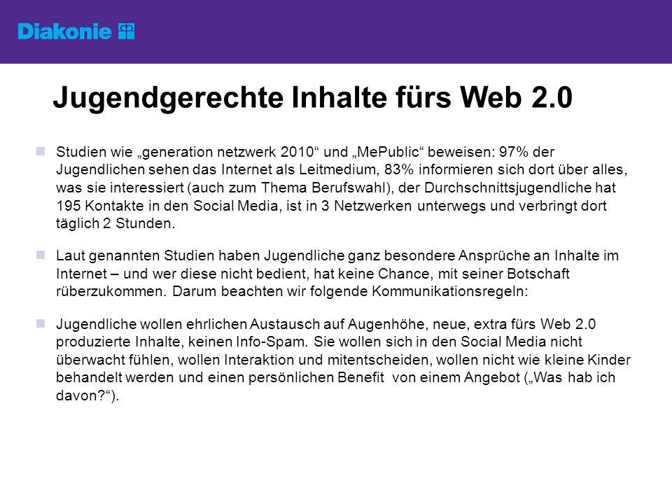 Jugendgerechte Inhalte fürs Web 2.0