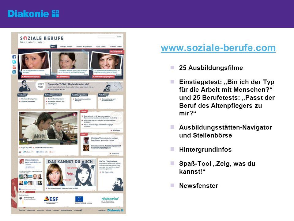 www.soziale-berufe.com 25 Ausbildungsfilme