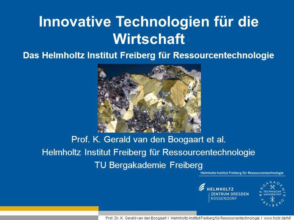 Innovative Technologien für die Wirtschaft