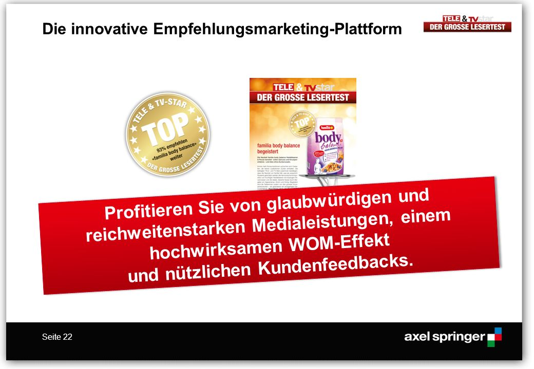 Die innovative Empfehlungsmarketing-Plattform