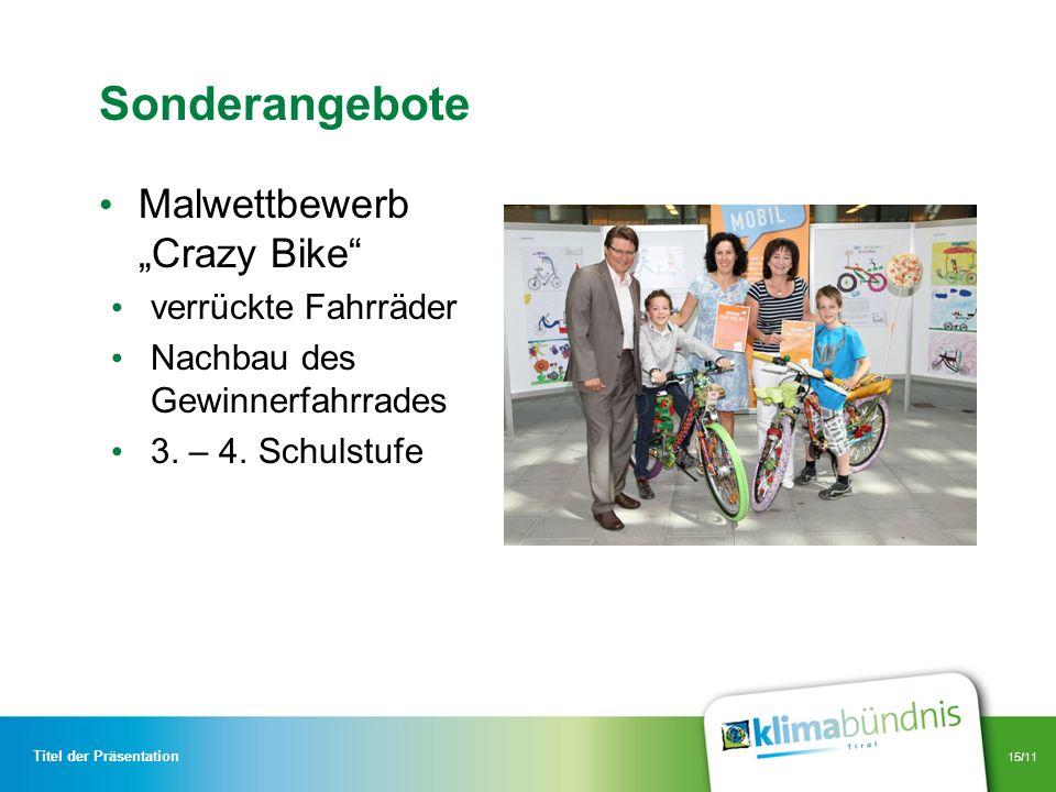 """Sonderangebote Malwettbewerb """"Crazy Bike verrückte Fahrräder"""