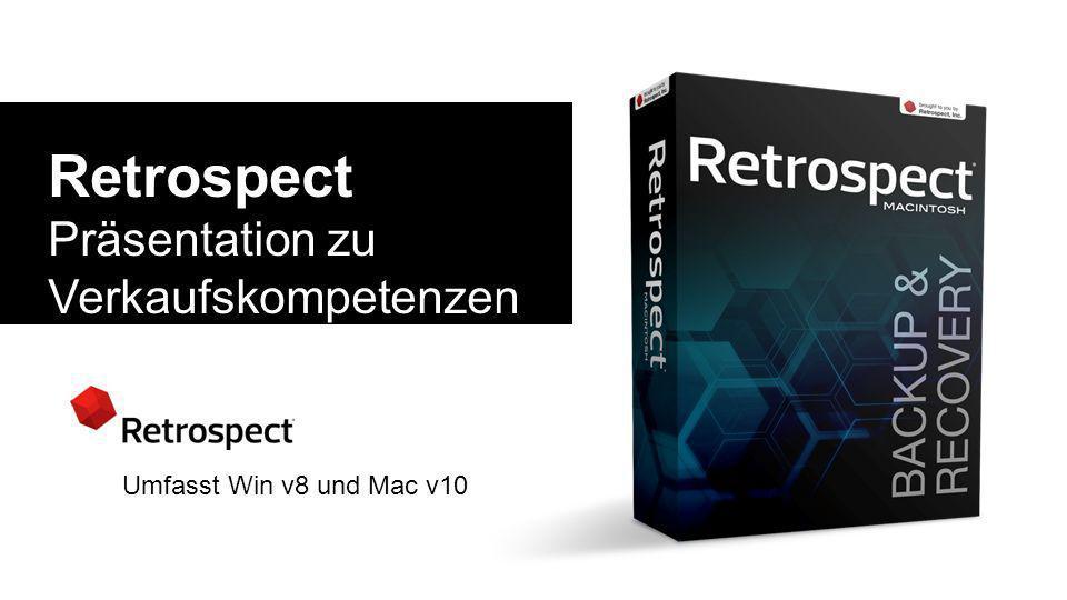 3/28/2017 Retrospect. Präsentation zu Verkaufskompetenzen und technischen Fachkenntnissen.