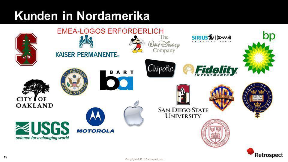 Kunden in Nordamerika EMEA-LOGOS ERFORDERLICH