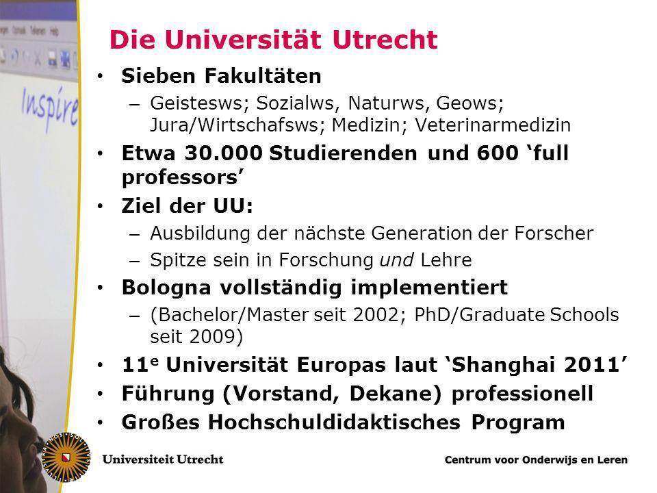 Die Universität Utrecht