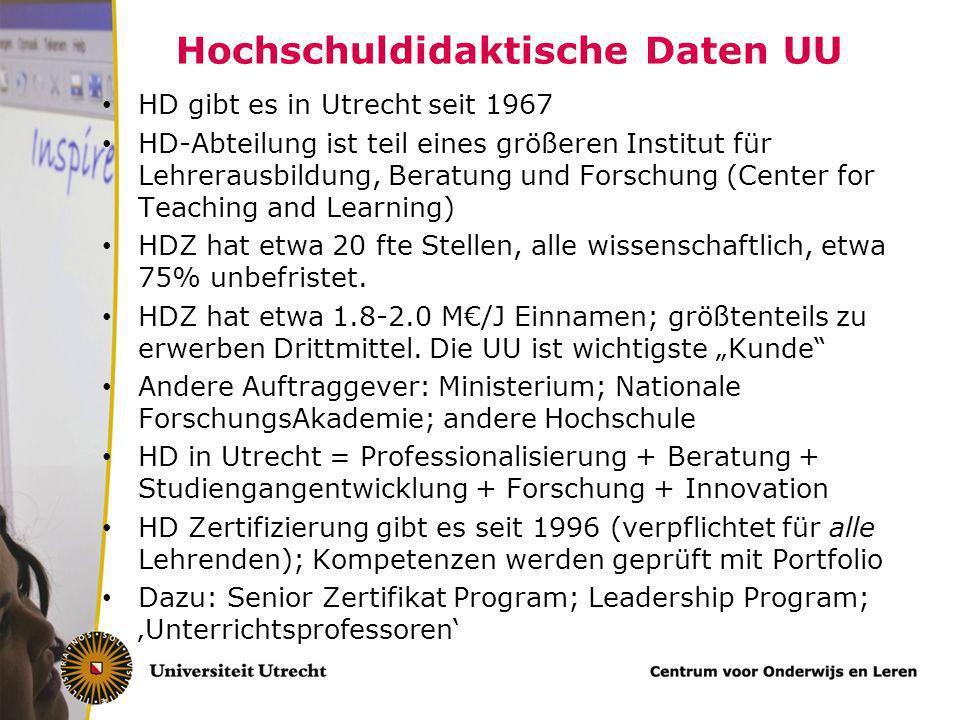 Hochschuldidaktische Daten UU