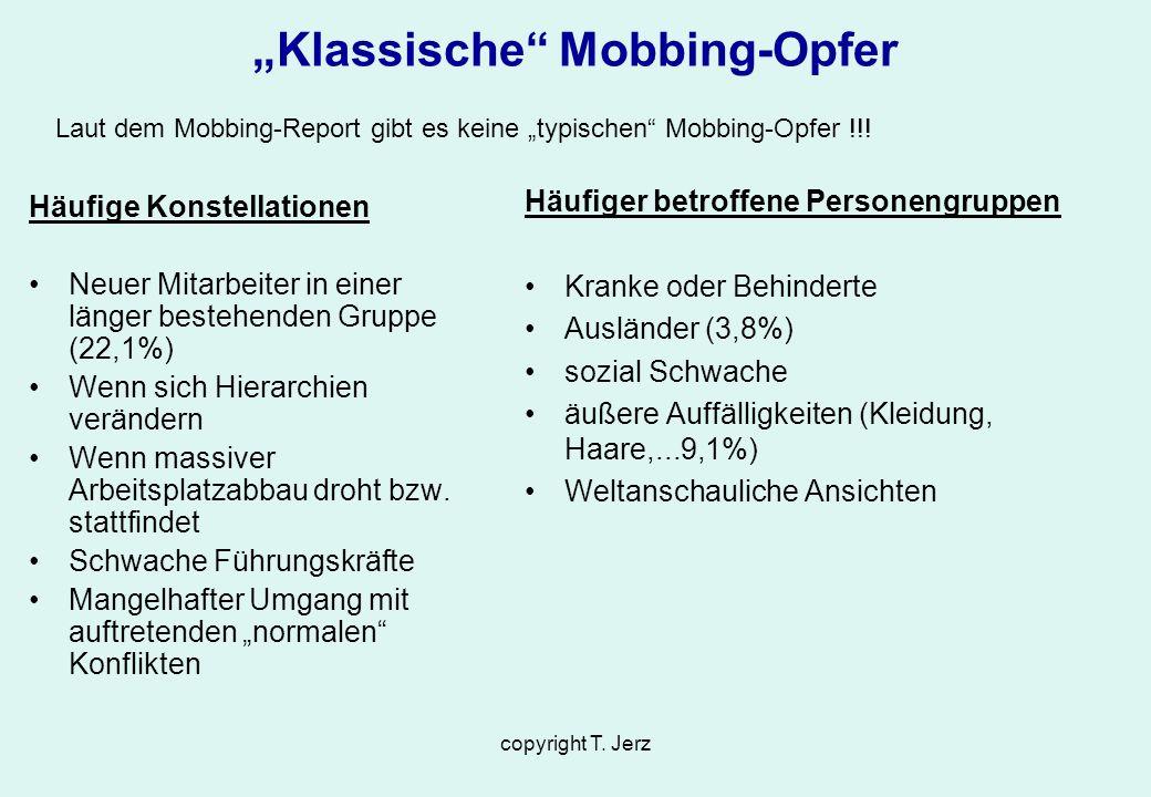 """""""Klassische Mobbing-Opfer"""