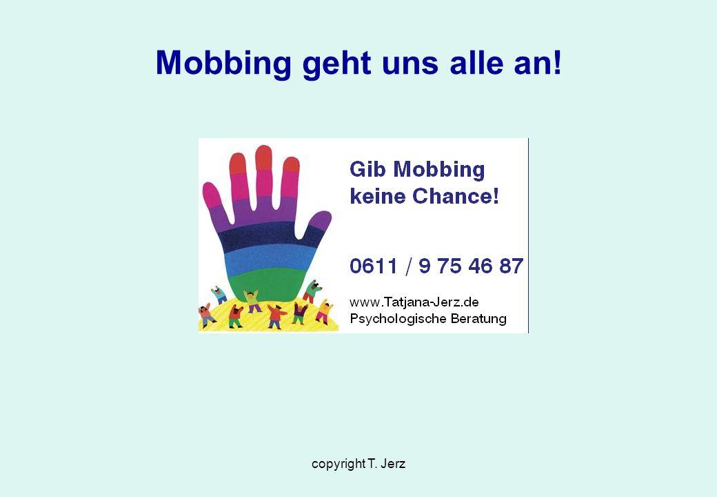 Mobbing geht uns alle an!