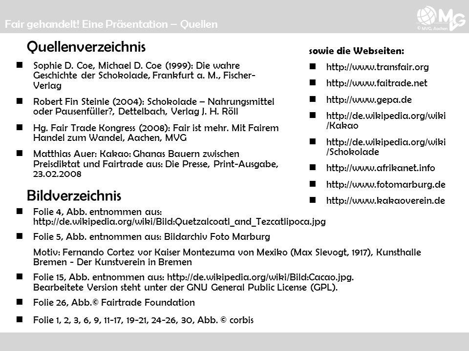 Quellenverzeichnis Bildverzeichnis